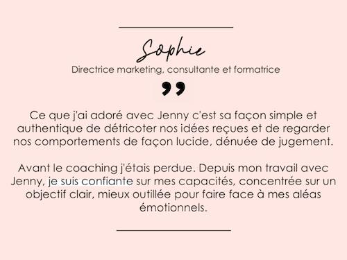 Temoignage-Sophie